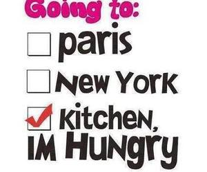 paris, kitchen, and hungry image