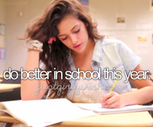 school, better, and quote image