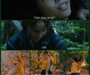 funny, lol, and the hunger games image