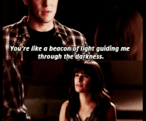 glee, quote, and sad image