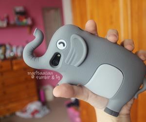 elephant, iphone, and case image