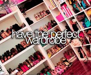 wardrobe, shoes, and perfect image