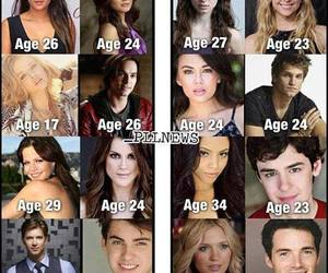 age, pll, and pretty little liars image