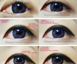 makeup, korean, and ulzzang image