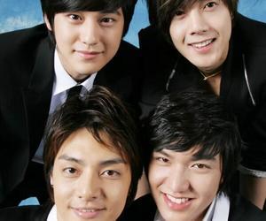 F4, kim hyun joong, and lee min ho image