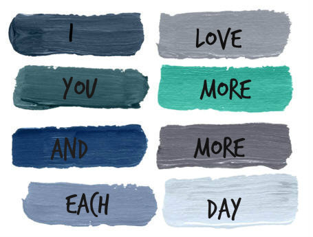 blue, text, and paint image