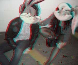 bugs bunny and 3d image