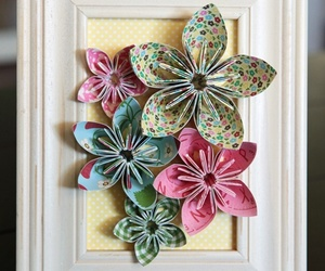 crafts, flowers, and origami image