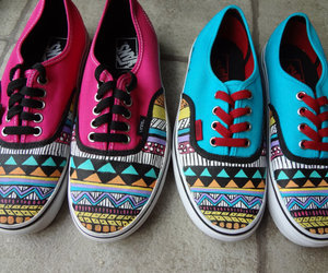 vans, fashion, and vans off the wall image