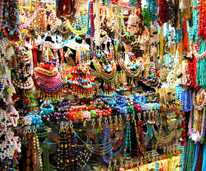 bazaar, beading, and beads image