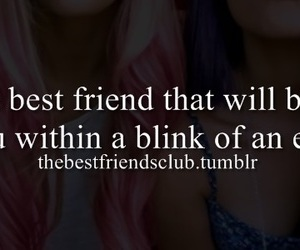 best friend, betray, and blink image