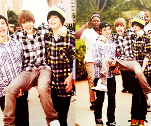 chaz somers, justin bieber, and ryan butler image