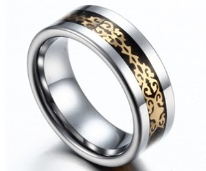 fashion, rings, and tungsten rings image