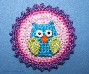 hat, owl, and crochet: image