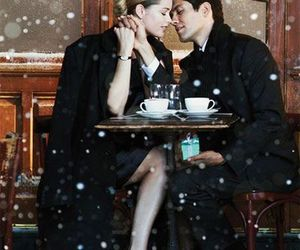 cafe, couple, and ♡♡♡ image