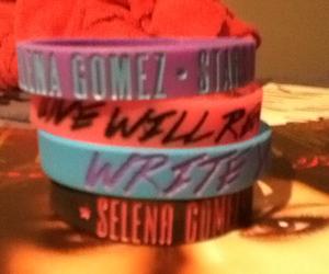 bracelet, montreal, and selena gomez image