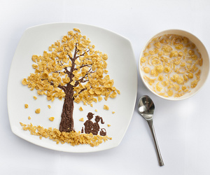 food, cereal, and tree image