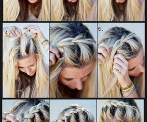 awesome, blond, and hair do image