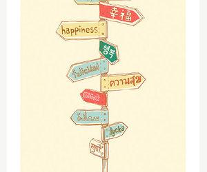 happiness, happy, and language image