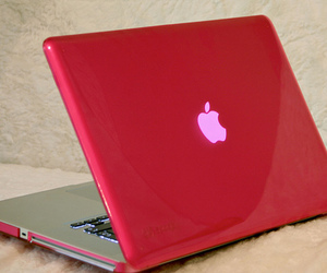 apple, laptop, and cool image