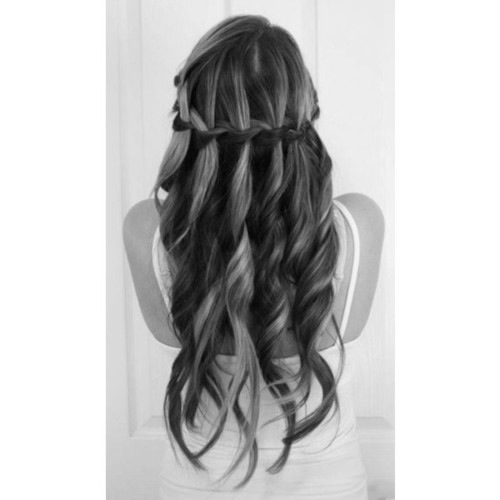 black and white, hair, and hairstyle image