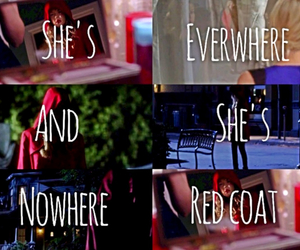 red coat, pretty little liars, and -a image