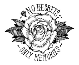 memories, regrets, and rose image