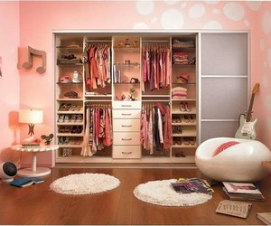 bedroom, closet, and design image