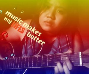 guitar, rock&roll, and lifes image