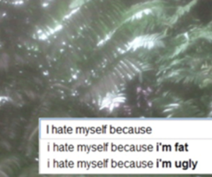 fat, ugly, and quote image