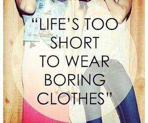 fashion, life, and clothes image