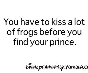 frog, kiss, and prince image