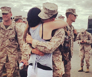couple, life, and soldier image