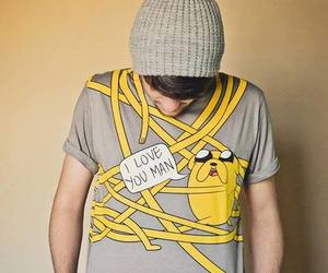 I Love You, t-shirt, and cute image
