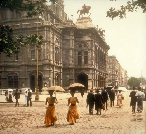 1902, belle epoque, and colorized image