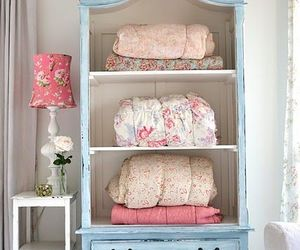 bedroom, girly, and decor image
