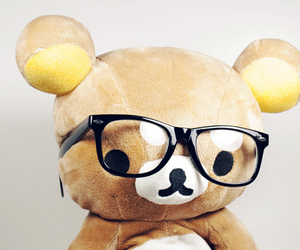adorable, bear, and beige image