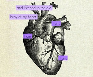 quote, heart, and i AM image