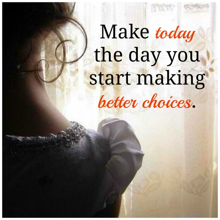 Make A Better Choice Picture By Angelchloe Inspiring Photo