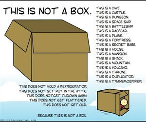 box and imagination image