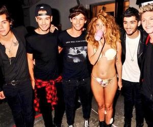 one direction, Lady gaga, and niall horan image