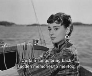audrey hepburn, memories, and movie image