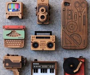 vintage, cool, and wood image