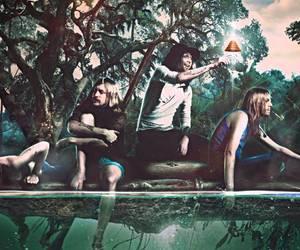 band, rock, and graveyard image