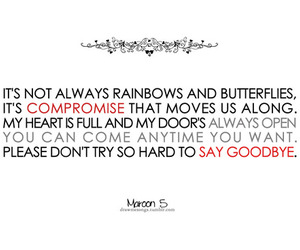 maroon 5 and quote image