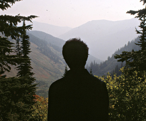 boy, hipster, and nature image