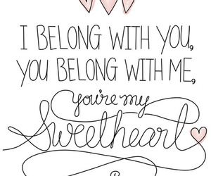 love, quotes, and sweetheart image