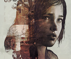 the last of us, game, and art image