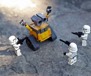droids, star wars, and storm troopers image