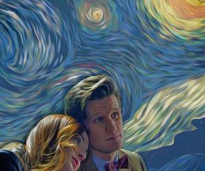 doctor who, amy pond, and matt smith image